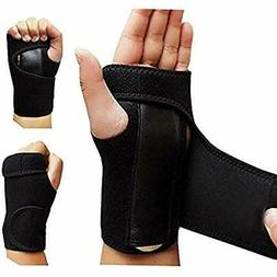 1 Pair Night Wrist Sleep Support Brace - Fits Both Hands Cus