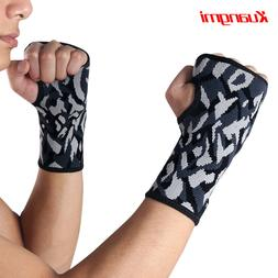 Kuangmi 1 Pair Wrist Brace Fitted Thumb Stabilizer Sports Wr