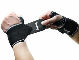 Ipow 2 Pack Strong Support Breathable Adjustable Wrist Wraps