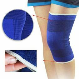 2PCS Elastic Compression Knee Support Brace Wrist Arm Sleeve