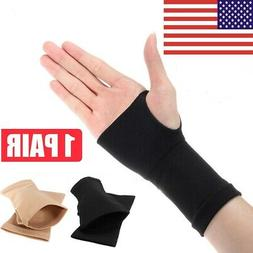 2X Thumb Hand Wrist Brace Carpal Tunnel Support Arthritis Co