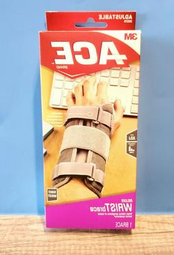 3M Ace Deluxe Wrist Stabilizer Right Wrist 205278 Support le
