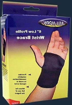 6 Low Profile Wrist in Black - Size: Large, Wrist: Right
