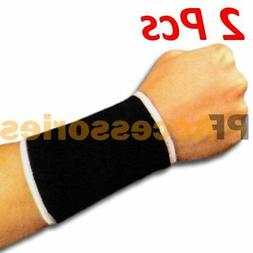 A Pair Elastic Compression Wrist Support for Hand Brace Reli