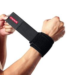 Kuangmi Sport Adjustable Compression Wrist Straps Support Wr