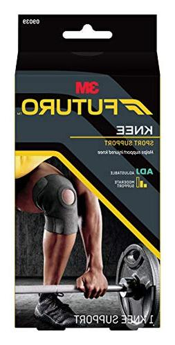 Futuro Sport Adjustable Knee Support, Moderate Support