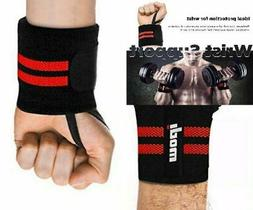 """Ipow Adjustable 18.5"""" Weight Lifting Training Wrist Straps S"""