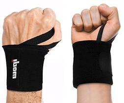 Ipow Adjustable Weight Lifting Training Wrist Straps Support