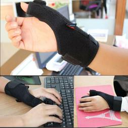 Adjustable Thumb Protector Stabilizer Wrist Brace Support Pa
