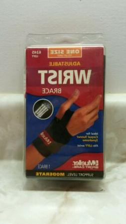 Mueller Adjustable Wrist Brace 6245 Black One Size Left Hand