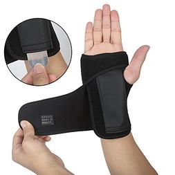 DOB AOLIKES Carpal Tunnel Wrist Brace with Removable Splint
