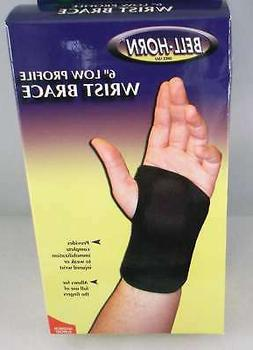 "Bell-Horn 6"" Low Profile Wrist Brace  Left, or Right SIZES A"