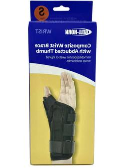 Bell-Horn BH87313 Composite Wrist Brace w/ Abducted Thumb Si