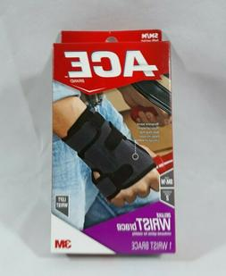 Brand New Ace Deluxe Left Wrist Brace Size SM/M Support Leve