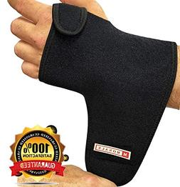 #1 Carpal Tunnel Wrist Brace Support by MONALE – Night & D