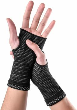 Carpel Tunnel Compression Brace Wrist Support Sleeves Pain R