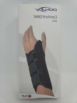 "DonJoy Comfort Form Wrist Support Brace, small, Right ""New O"