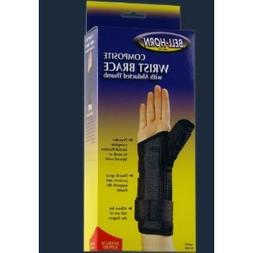 Composite Wrist with Abducted Thumb in Black Size: Medium, W