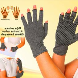 Compression Arthritis Gloves Fit Joint Carpal Tunnel Hand Wr
