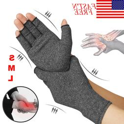 Compression Gloves Brace Support Arthritis Relief Carpal Tun