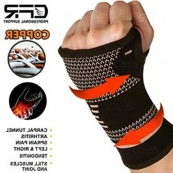 cooper Wrist Hand Brace Palm Support Carpal Tunnel Tendoniti