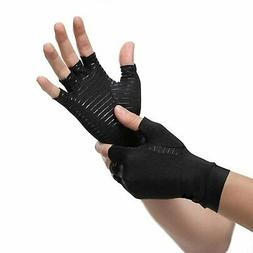 Copper Compression Gloves Arthritis Fit Carpal Tunnel Hand W