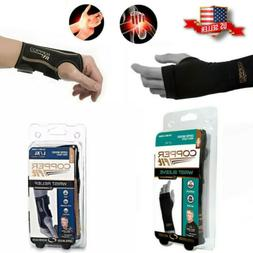 COPPER FIT Brace for Right Hand Infused Wrist Relief Compres
