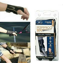 Copper Fit Infused Wrist Relief Adjustable Brace Compression