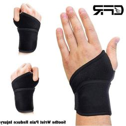 Copper Wrist Brace Compression Gloves Carpal Tunnel Support