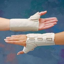 Rolyan D-Ring Wrist and Thumb Spica Splint for Left Wrist, B