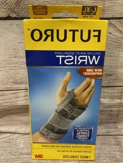 FUTURO Deluxe Wrist Stabilizer Left Hand Large-X-Large 1 Eac