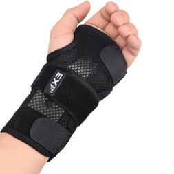 Double Wrist Splints Hand Support Brace Mesh for Carpal Tunn