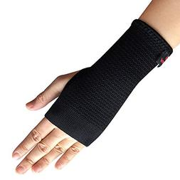 Kuangmi Elastic Wrist Support Compression Sleeve, M