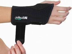 Mueller Fitted Wrist Brace Black Left or Right -SIZES AVAILA