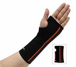 NEOALLY Wrist Sleeve Support Hand Compression Brace for Carp