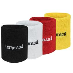 <font><b>Kuangmi</b></font> Sports Sweatband Wristband Power