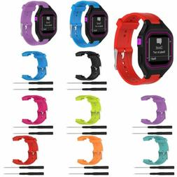 For Garmin Forerunner 25 Silicone Wrist Watch Band Strap Bra