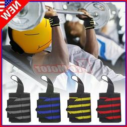 Gym Sports Wrist Band Brace Wrap Adjustable Support Strap Ca