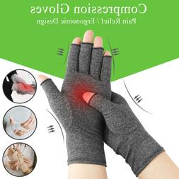 Hand Wrist Compression Gloves Arthritis Joint Fit Carpal Tun