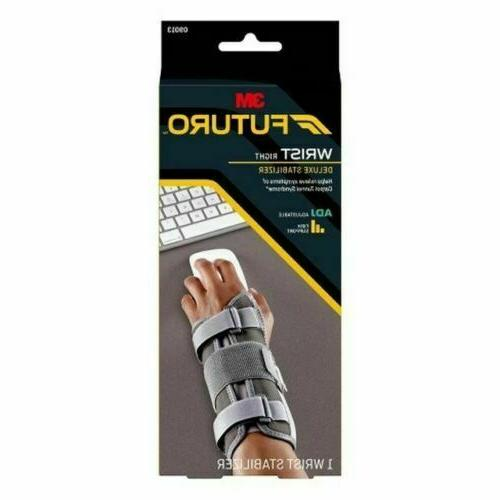 3m wrist right deluxe stabilizer adjustable brand