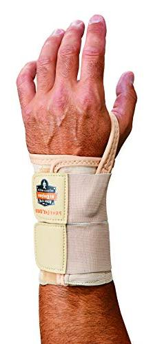 PROFLEX 4010 Wrist Support, Right, XL, Tan