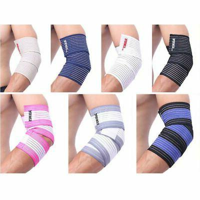 Wrist Elbow Knee Ankle Support Elastic Brace Strap Protector