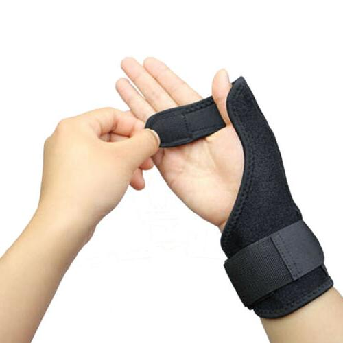 AOLIKES Wrist Thumb Support Brace Finger Injury Heal Aider J