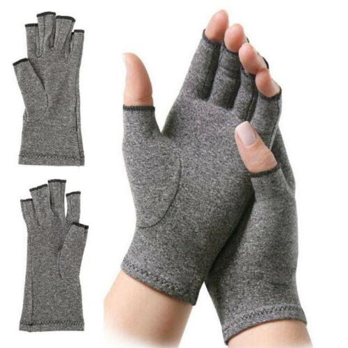 Arthritis Pain Relief Compression Gloves Joint Finger Hand W