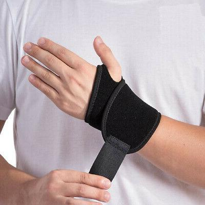 Wrist Brace Pain Relief Hand Wrap Support Bandage Carpal Tun