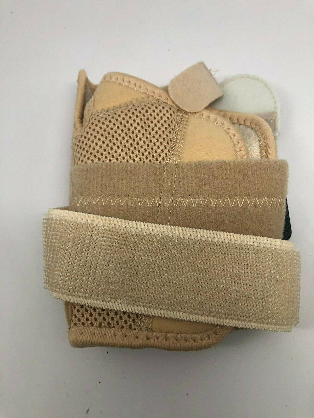 FLA Orthopedics Soft Fit Suede Finish Lg  Right Wrist Brace