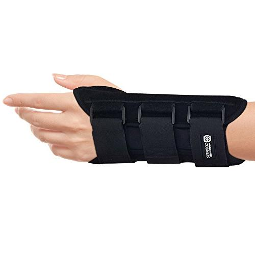 Copper Compression Carpal Night Wrist - GUARANTEED Content Wrist Support Comfortable Wrists and Support Splint.