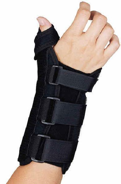 carpal tunnel wrist brace and thumb spica