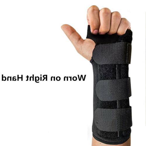 Wrist Hand Braces Support Carpal Tunnel Sprain Forearm Splin
