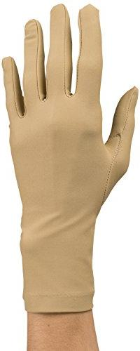 Rolyan Compression Gloves, Pair of Medium Full Finger, Wrist